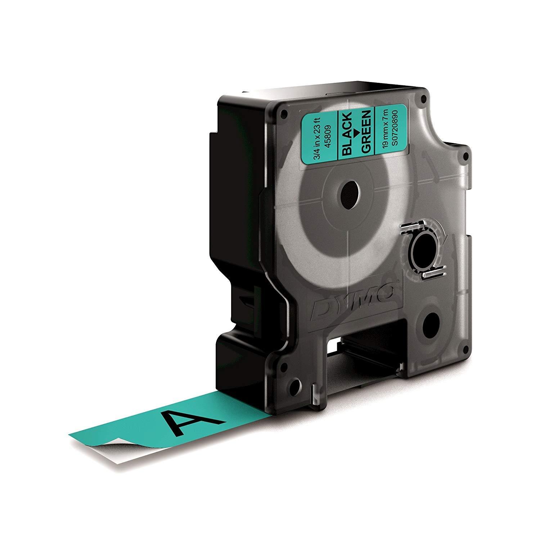 19mm/x/7/m DYMO Authentic D1 /étiquettes autocollantes impression en noir sur fond blanc pour imprimantes d/étiquettes LabelManager 10/rouleaux