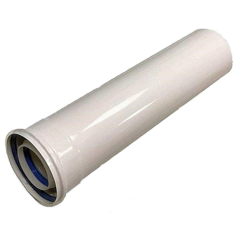 tubo de escape, Uzman tubo de escape de doble tubo /ángulo di/ámetro de 60//100 mm arco Tubo de escape concentrado