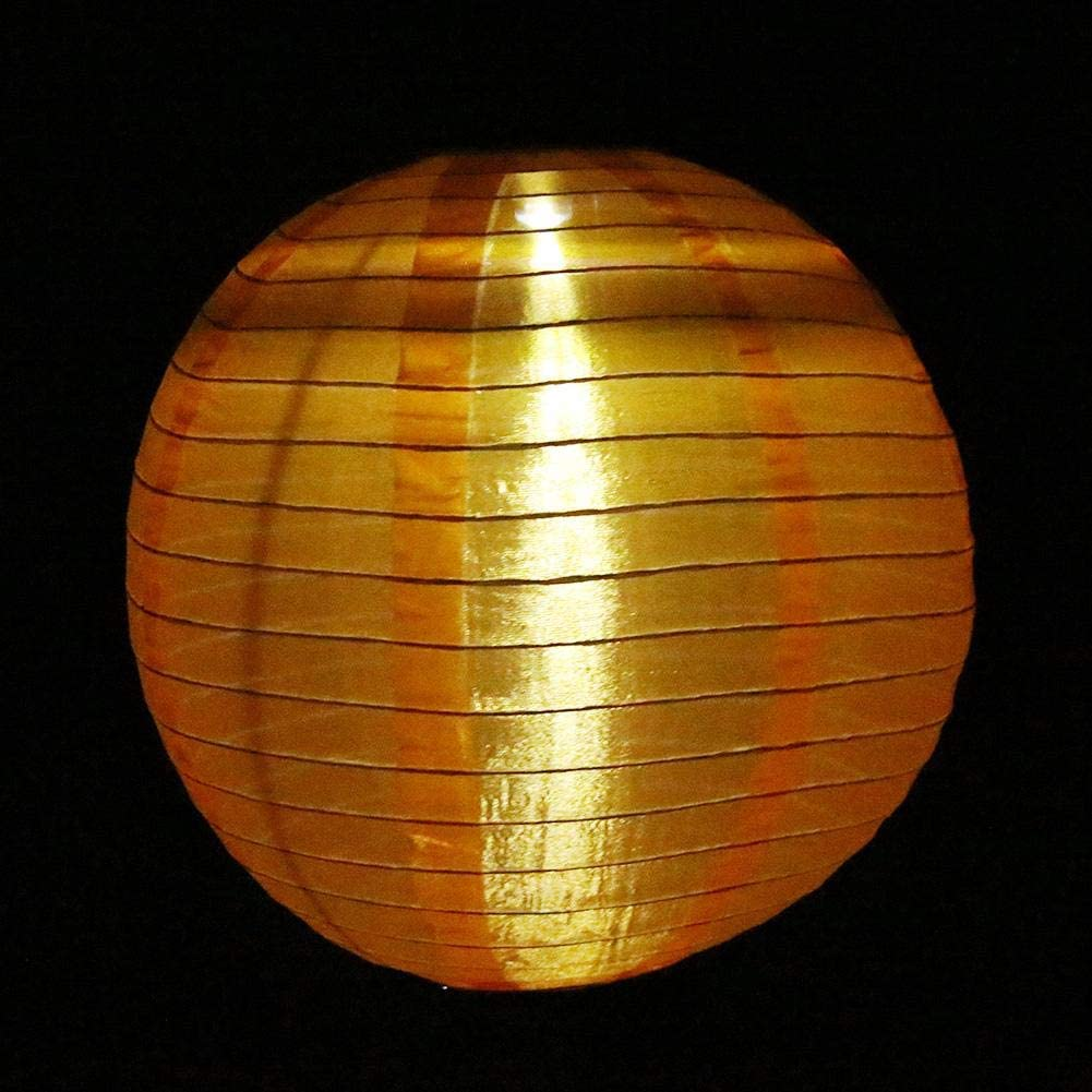 LED Solar Cloth Light Chinese Lantern Festival Lamp Lamp Hanging Waterproof U0P1