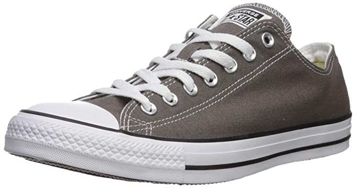 Converse Chucks Chuck Taylor All Star Low Top Sneakers Damen Herren Unisex Grau