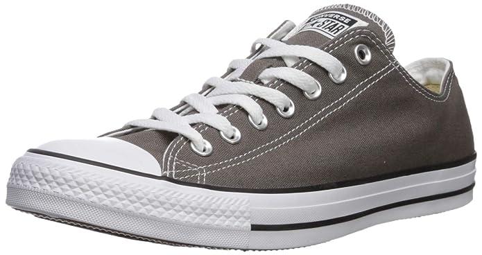 Converse Chucks All Star Low Top Ox Sneakers Damen Herren Unisex Grau