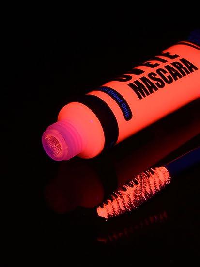 15 ml negro luz Mascara Neon Rosa