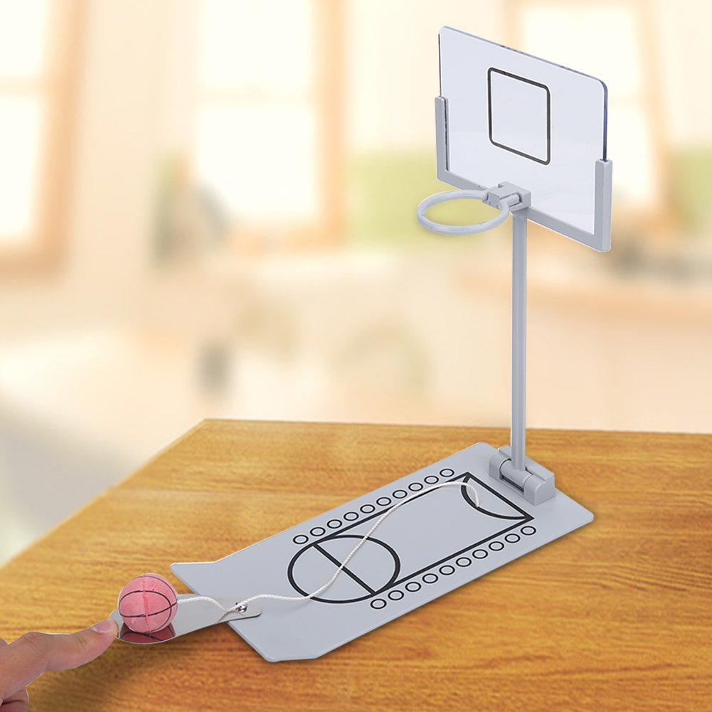 Mini Basketball Sets Pliable Funny Office Home Jeux de tir de bureau D/étendez-vous Kids Toy