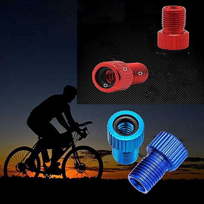 5pc Valve adapter Presta Schrader Converter Road Bike Cycle Bicycle Pump Tube