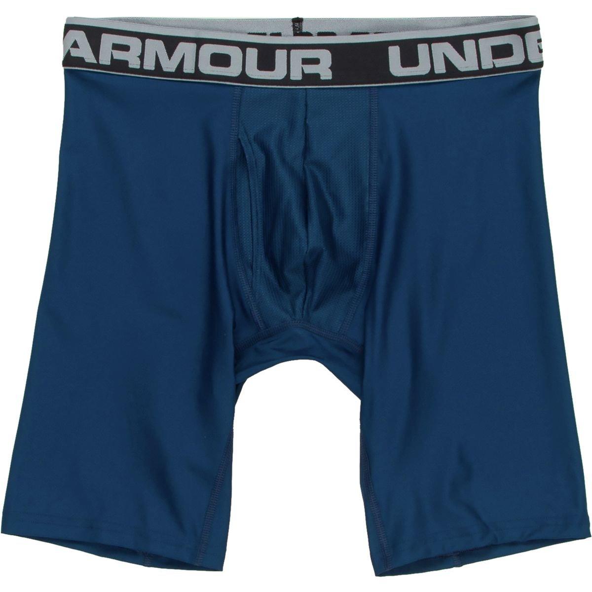 (アンダーアーマー) UNDER ARMOUR オリジナルシリーズ9インチボクサージョック(アンダーウェア/MEN)[1277240] B01FF0CBZ6 Large|Blackout Navy/Steel Blackout Navy/Steel Large