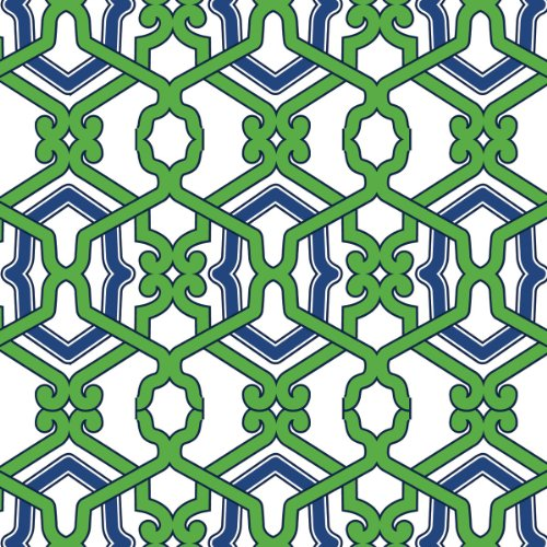 Green Lilly (Ideal Home Range 20-Count Rosanne Beck Paper Cocktail Napkins, Jacki)