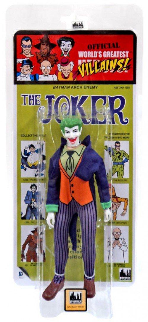 DC Comics Retro Kresge Style Action Figures Series 3 Joker Figures Toy Co.