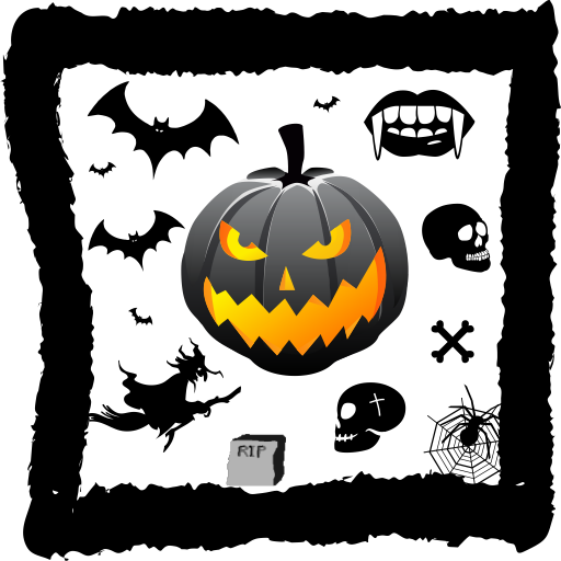 Halloween Frame Live Wallpaper -