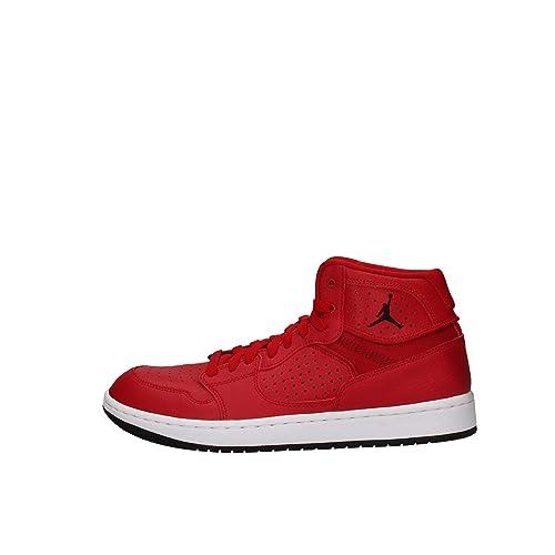 Nike Herren Jordan Access Hohe Sneaker, schwarzrot