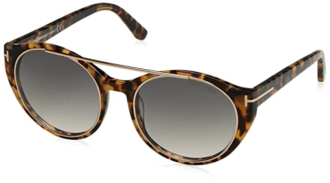 Tom Ford Sonnenbrille FT0383_56B (52 mm) Havana, 52