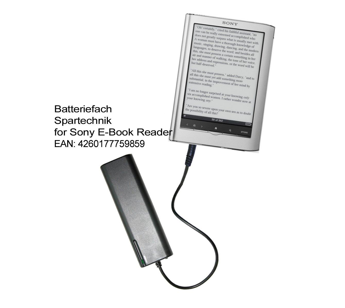 Spartechnik – Cargador de baterías externo portátil para E-reader ...