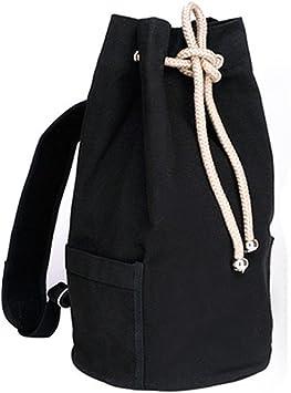 JMAHM Mochila con cordón Mochila de Lona Mochilas Escolares Bolsa ...