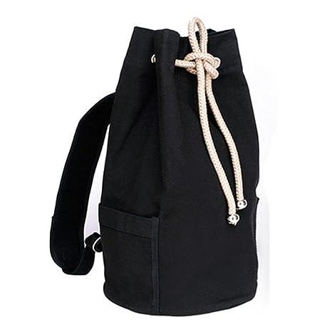 JMAHM Mochila con cordón Mochila de Lona Mochilas Escolares Bolsa de Baloncesto Bolsa de Cubo para