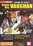 Learn To Play Stevie Ray Vaughan Guitar Techniques 2 DVD Set