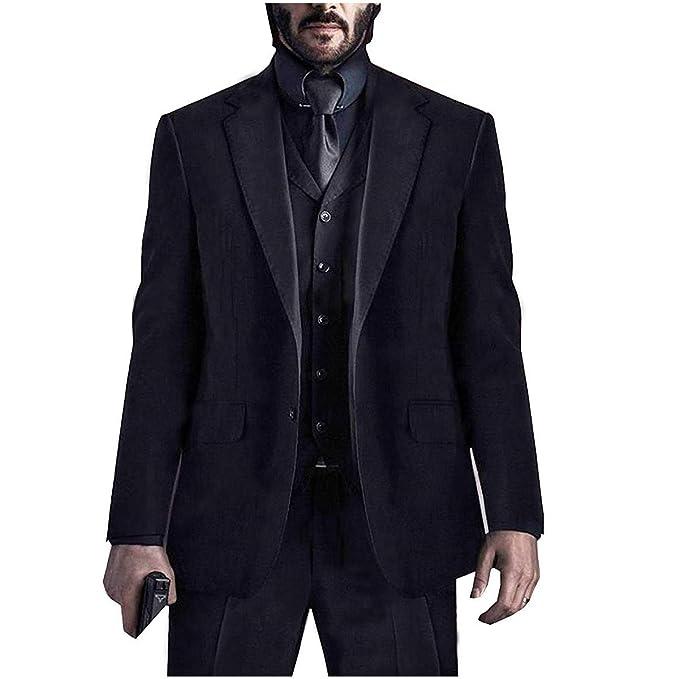 Amazon.com John Wick Chapter 3 Keanu Reeves 3 Piece Black