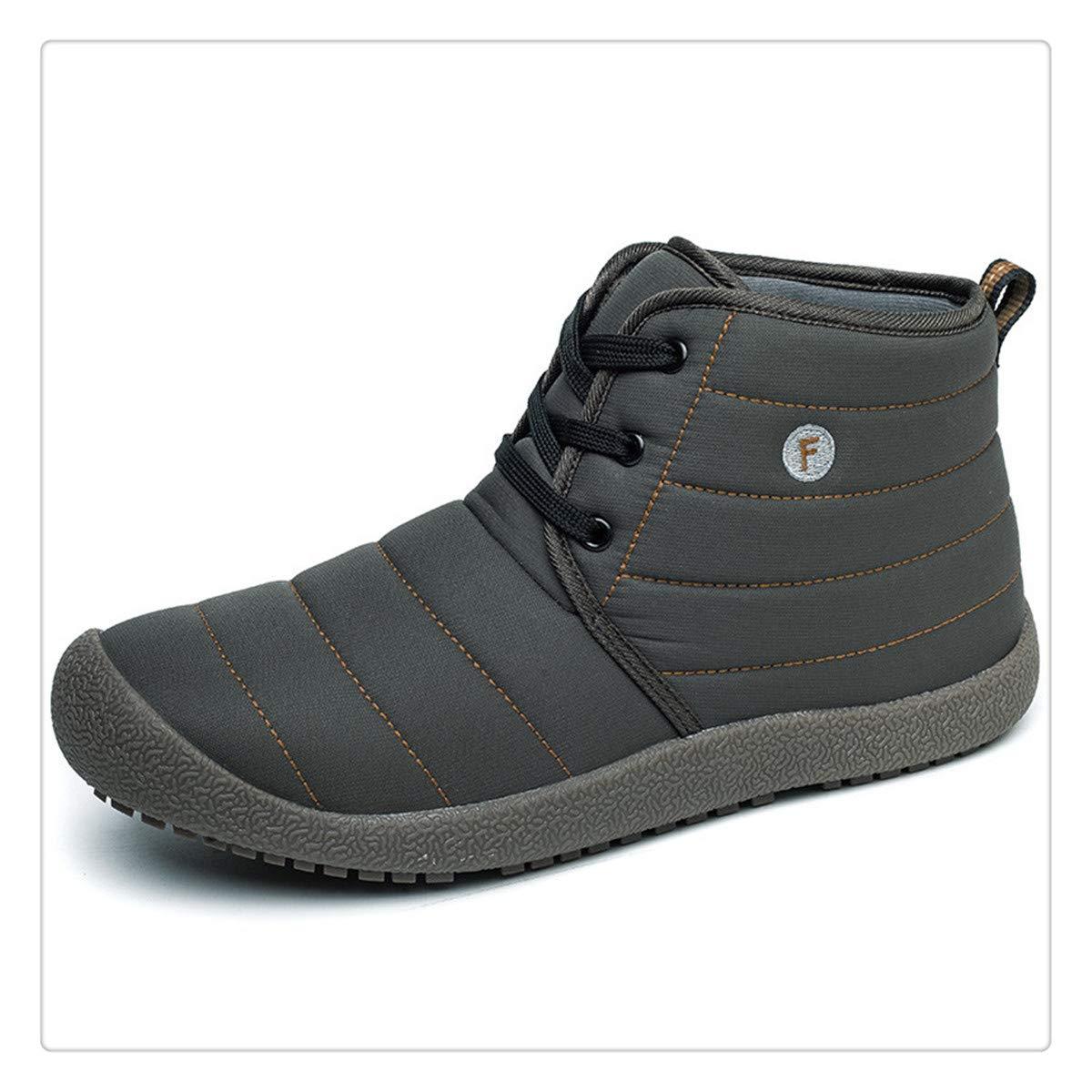 38-48 Winter Boots Men Plush Warm Winter Men Boots Work Shoes Safety