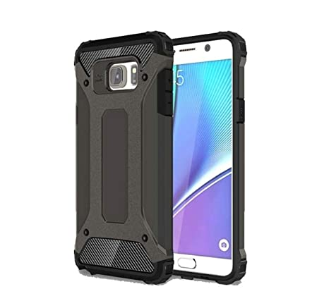 purchase cheap 1fe43 c0883 Royal Star Dual Layer Armor Neo-Hybrid Shock-Proof Back Case Cover for  (Samsung Galaxy Note Fan Edition (FE), Grey)