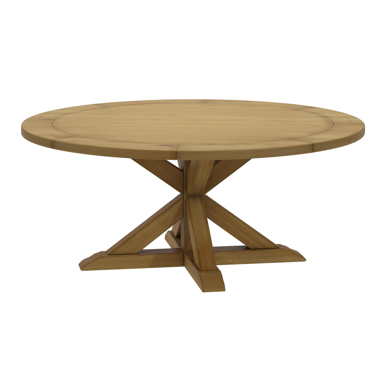 South Cone Home Bayliss Round Dining Table 72 Maple Amazon Co Uk Kitchen Home