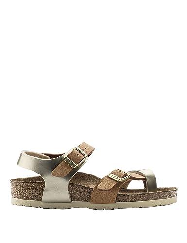 Birkenstock Girls Taormina Kids -Gold Sandals Brown in Size US 6-6.5 Little  Kid 01ee88b4527