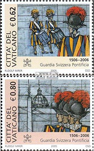 Vatikanstadt 1538-1539 (Complete.Issue.) 2005 Papal Swiss Guard