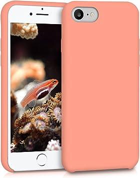 Housse de t/él/éphone Vert Pesto kwmobile Coque Compatible avec Apple iPhone 7//8 // Se 2020 - Coque