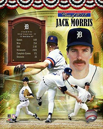 Jack Morris Detroit Tigers MLB Hall of Fame Photo (Size: 8
