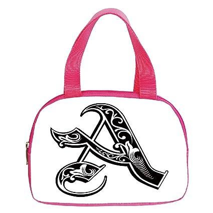 Amazon.com  iPrint Strong Durability Small Handbag Pink 987670d0d0b25