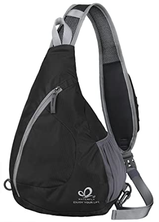 Amazon.com : WATERFLY Sling Chest Backpacks Bags Crossbody ...