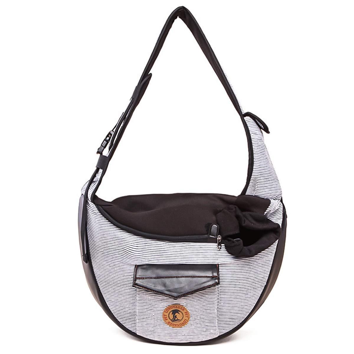 57d9bdb712b6 Amazon.com : Portable Pet Carrier Single Shoulder Crossbody Bag Cat ...