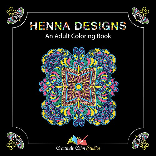 Creatively Calm Studios Adult Coloring Book Set With 120