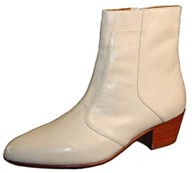 f71548b3c54 Amazon.com | Giorgio Brutini Leather Boots Cuban Heel Size 13D | Chelsea