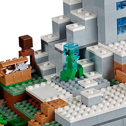 Lego Ninjago Minecraft The Mountain Cave 21137 Building Kit (2863 ...