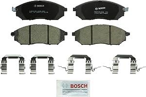 Bosch BC888 QuietCast Premium Ceramic Disc Brake Pad Set For: Infiniti EX35,37; FX35,37,45, G25,35,37, M35,M35h,M37,M45,M56, Q40,Q45,Q70, QX50,QX70, Q70L; Nissan 350Z, 370Z, Murano, Pathfinder, Front