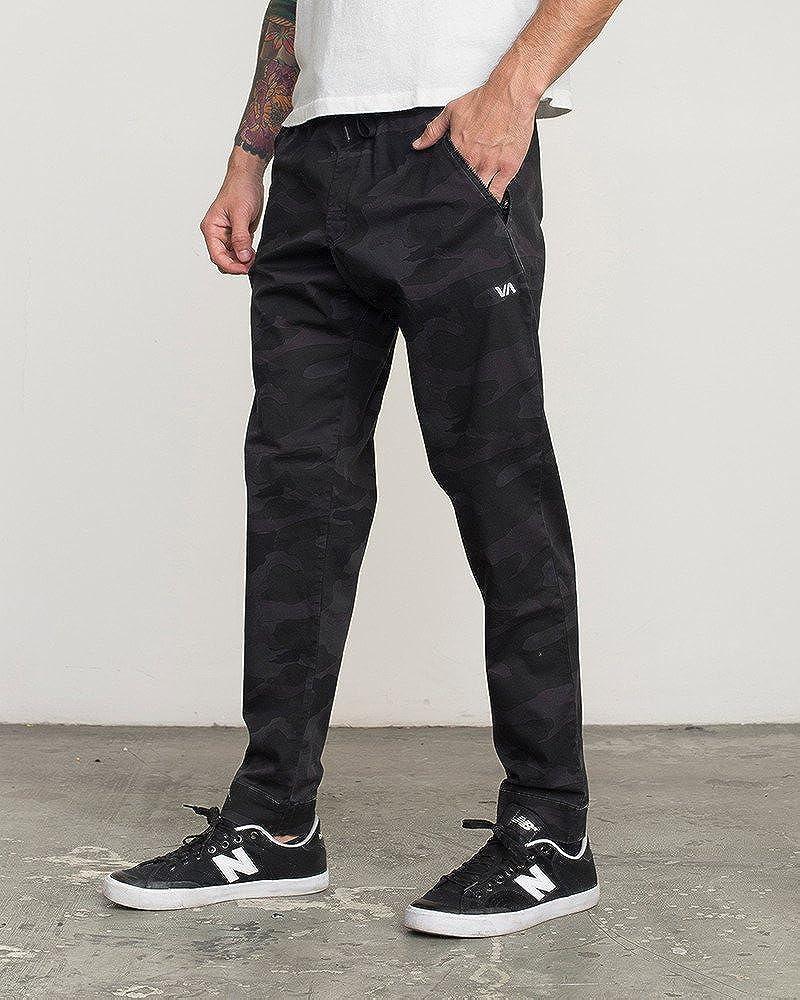 RVCA Mens Vamok Workout Lounge Pants Camo Size Small