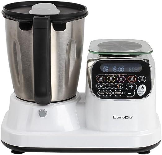DomoClip DOP166 - Robot de cocina con calefacción todo en uno ...