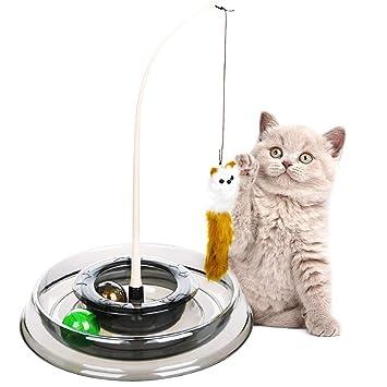 Legendog Gato Varita Mágica Juguete De Juguete Divertido Interactivo para Mascotas Juguete De Juguete para Mascotas
