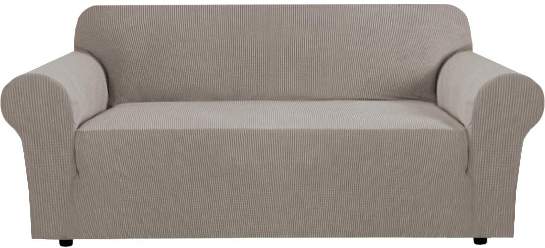 Modern Spandex Sofa Cover Couch Covers with Elastic Bottom Jacquard High Stretch Sofa Slipcover