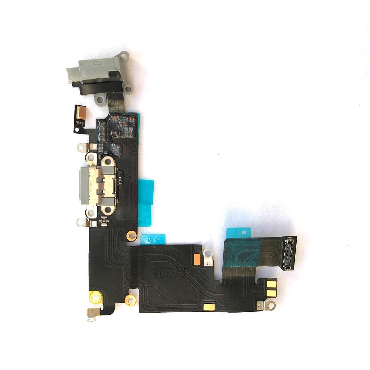 Puerto de Carga para iPhone 6 Plus 5.5 Dark Gray