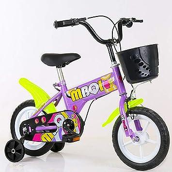 SHARESUN Bicicleta para niñas con Ruedas de Entrenamiento para ...