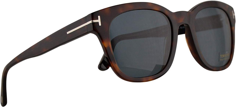 Amazon.com: Tom Ford FT0676 - Gafas de sol Eugenio con lente ...