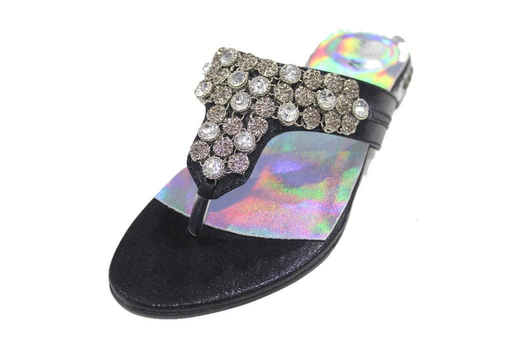 Wear Wear & femme Walk UK , Sandales Sandales Plateforme femme Noir d25d7fd - piero.space