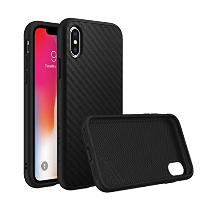 Rhinoshield Full Impact Protection Case For Iphone X Solidsuit Series Military Grade Drop Protection Supports Wireless Charging Slim Scratch