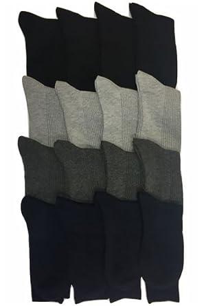 1ec5a300e9449c まとめ買いセット) メンズ ビジネスソックス 靴下 リブソックス 綿混素材 4色 8