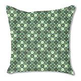 Star Mosaic 24X24 Burlap Pillow 2-Sided