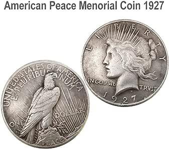 Monedas Aficiones: 1921/1922/1927 Estatua De La Libertad Y La Paz ...