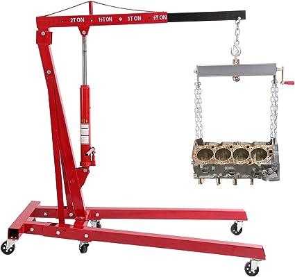 iglobalbuy/4400lb de 2 toneladas gato hidráulico Jack grúa plegable para motor de elevación/tienda: Amazon.es: Coche y moto