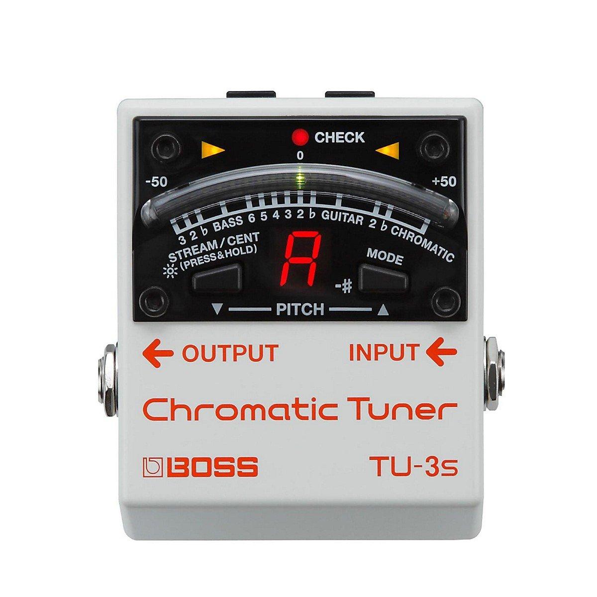 Boss TU-3S Chromatic Tuner Pedal