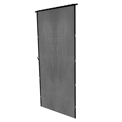 Charmant Retractable Screen Doors, 87 H X 43 W Magnetic Front Door Bug Black  Curtains Insect Mesh