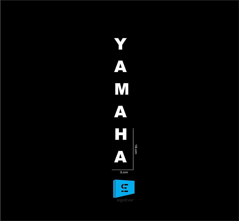 Sign ever bike sticker yamaha r15 white l x h 3 x 18 cms