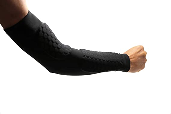 BARNETT Forearm Padded Sleeve Support with Protection Pads